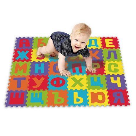 Детски пъзел килим за игра с букви