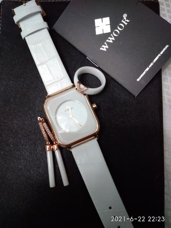 Часы+серьги+кольцо