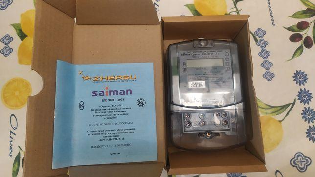 Продам электро счетчик ОРМАН СО-Э711 Т1