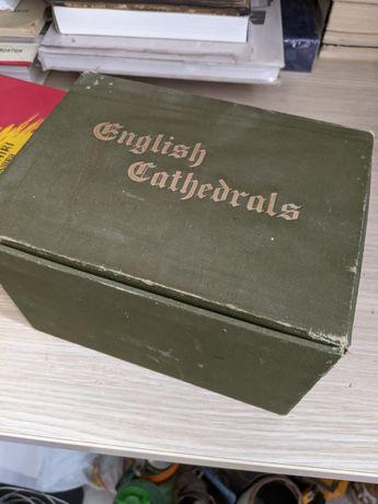 Set 12 cărți Catedrale Engleze - anii 1890