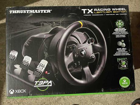 Volan Thrustmaster TX Leather Edition pentru Xbox One si PC