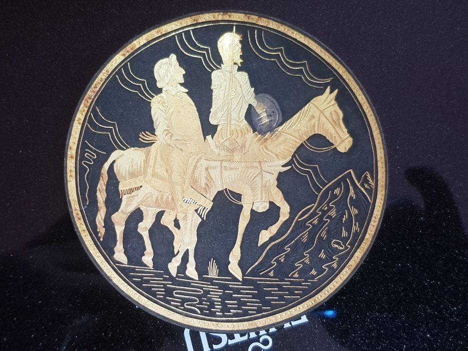 Farfurioara Don Quijote si Sancho Panza de La Mancha Arad - imagine 1