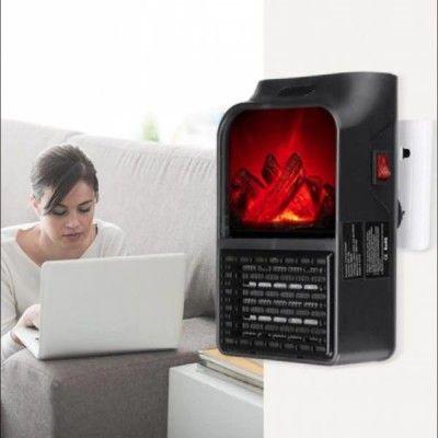 Aeroterma portabila Flame Heater 500 W cu display digital
