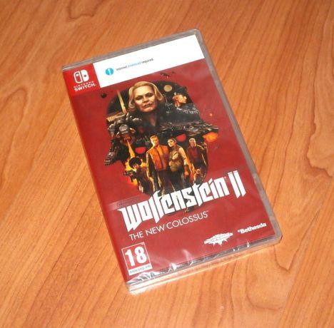 Wolfenstein II - The New Colossus , Nintendo Switch , sigilat