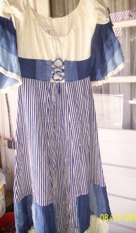 Rochie traditional germana lunga mar M