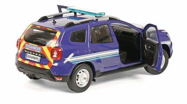 Macheta auto Dacia Duster 2 Jandarmerie Franta 1/18 Solido nou
