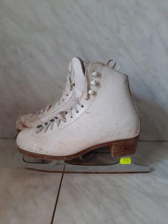 Patine gheata 24 profesionale patinaj artistic Riedell marime 34,5