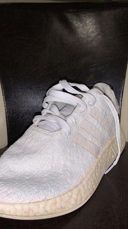 Adidas NMD R2 triple white