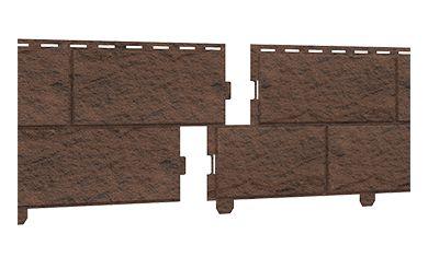 сайдинг (STONE HOUSE Кирпич) коричневый, Фасадные панели, Нур-Султан (Астана) - изображение 1