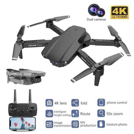 Дрон E99 PRO2 с две 4К камери и 20 мин. полет + чанта