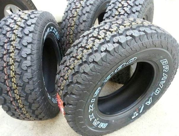 Vand anvelope noi all season, all terrain 265/70 R16 Maxxis AT980 M+S.