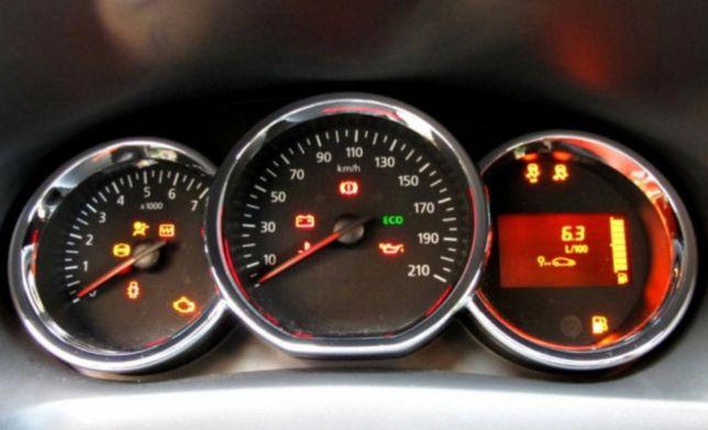Resetare service / ulei Dacia  2013-2020