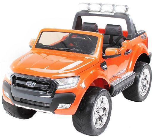 Masinuta electrica Ford Ranger 4x4 cu ROTI MOI 4x45W #Portocaliu