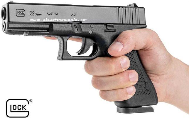 Pistol Glock 22 Umarex CO2 airsoft Putere 2 jOULES