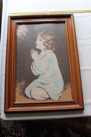 goblen - copil care se roaga