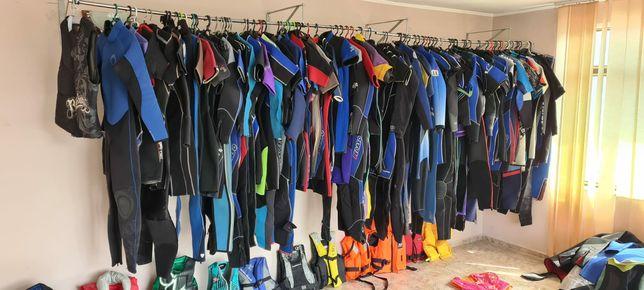 Costume scafandri , neopren , sporturi nautice