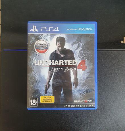 Продам игру для ps4 Uncharted 4