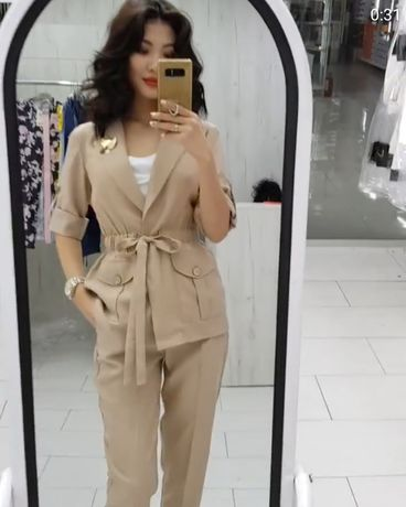 Кастюм и брюки комплект турецкого одежда