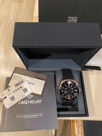 Оригинален мъжки часовник TAG Heuer aquaracer 300M с кутия и документи
