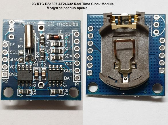 DS1307, 3231 Real Time Clock