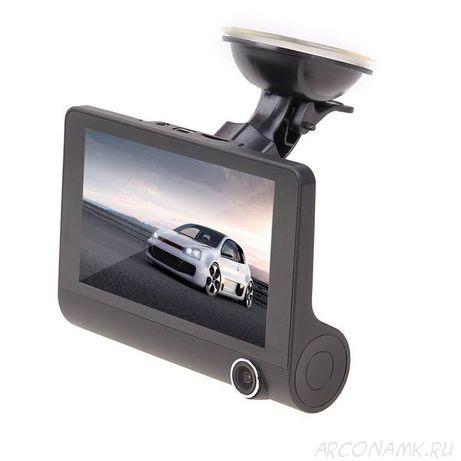 Авторегистратор 3 камеры. Видео регистратор с задней камерой новые