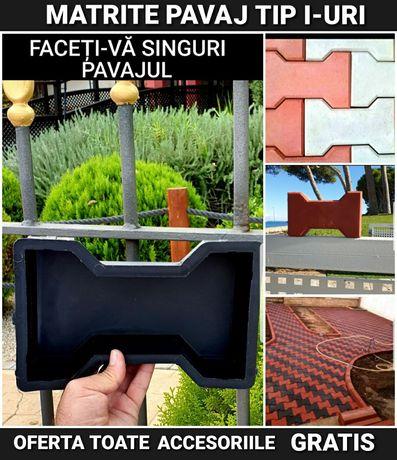 Super Oferta matrite pavaj tipare dale forme pavele unelte constructi