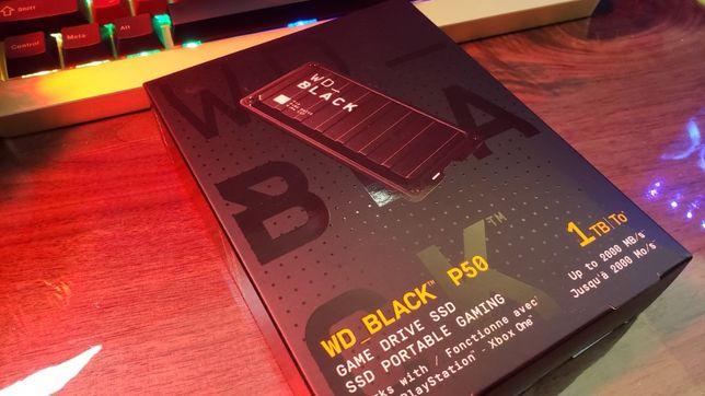 SSD Extern portabil WD Black P50 1TB [PS4] [XBOX ONE] nou SIGILAT