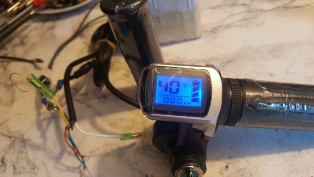 acceleratie bicicleta electrica cu display si contact de la 12v-84v