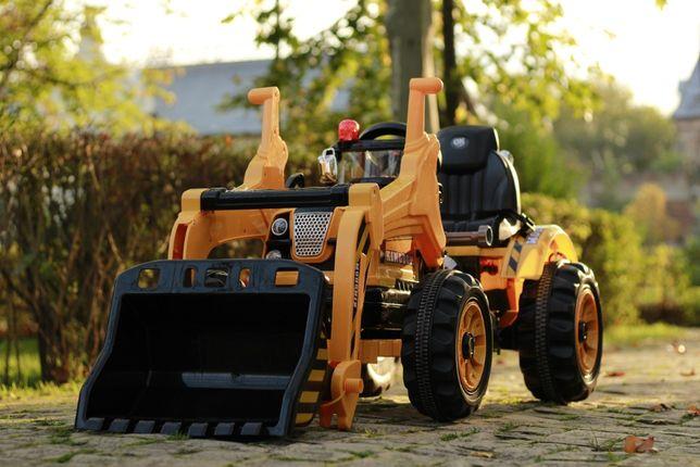 Excavator electric pentru copii Kinderauto BJS328 70W 12V #Galben
