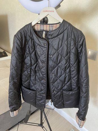 Продам женскую куртку под Burberry