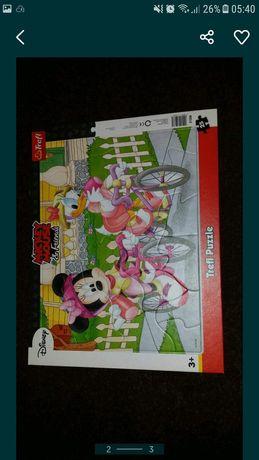 Puzzle copii cu tablă pentru piese -25 piese