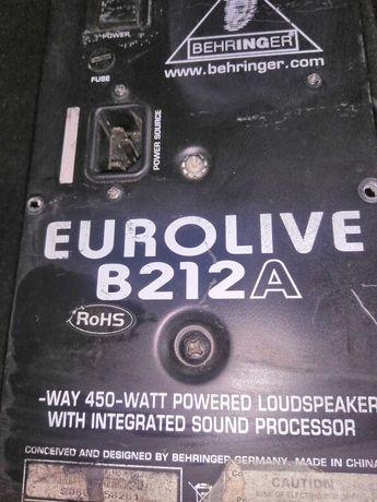 продам блок усилителя/eurolive 212A