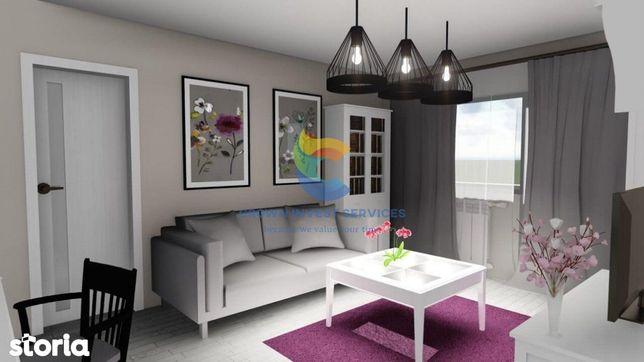 Apartament 3 camere, 83mp utili,spatios, Tatarasi, 600m de RATP,Ciric