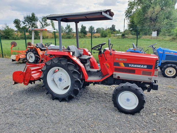 Tractor japonez Yanmar FV 270, 4x4, 27cp, Servo + freza