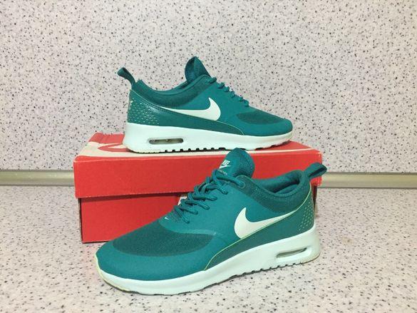ОРИГИНАЛНИ ** Nike Air Max Thea Radiant Emerald Fiberglass