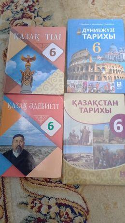 Учебники 6 класса казахской школы