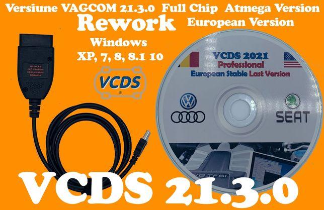 Tester Auto VCDS 21.3.0 Romana Engleza VAGCOM 21.3.0 Diagnoza VAG-COM