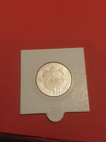 2 lei 1881 argint