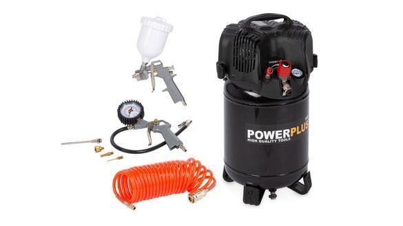 Акция! Компресор POWX1731 1100W 24l Powerplus! Стара цена 388.26лв.