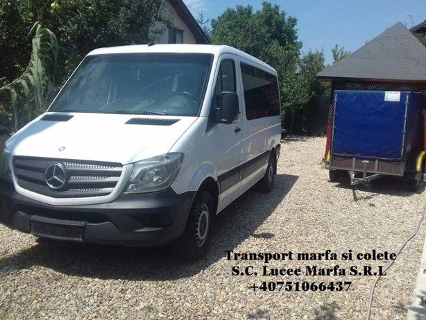 Transport colete-marfa Romania-Germania -Romania