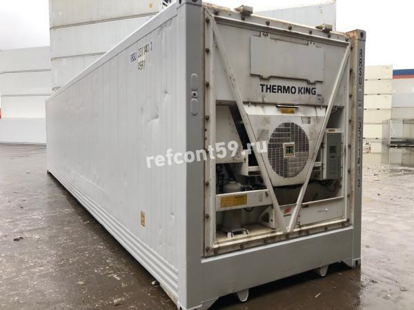 Рефконтейнер 40 футов Thermo King 2007 из Нур-Султана №1413