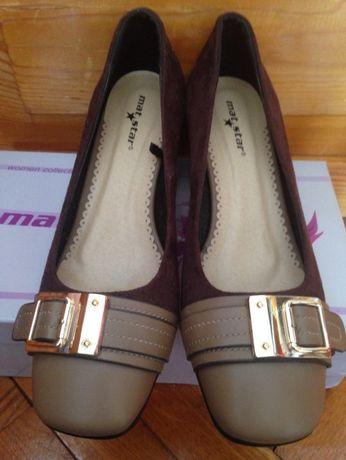 Дамски елегантни обувки на токчета, 38 размер