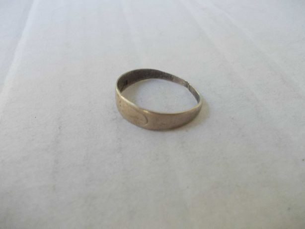 Inel vechi din argint 5
