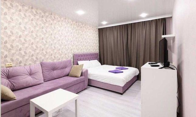 Квартира посуточно в новом ЖК Ривера на Сатпаева Тлендиева рядом с АДК