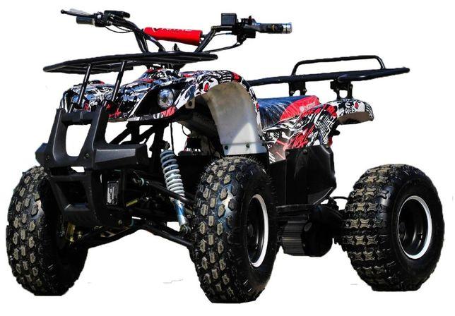 ATV electric NITRO Eco Toronto 1000W 48V 20Ah cu DIFERENTIAL #White