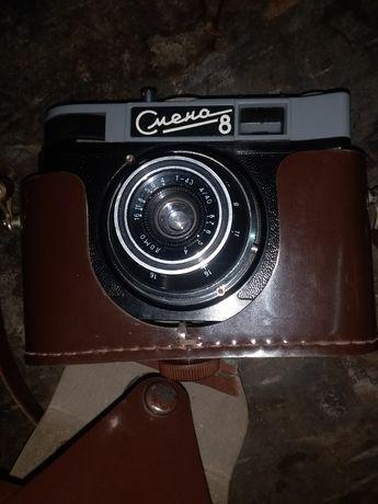 Советский фотоаппарат Смена 8