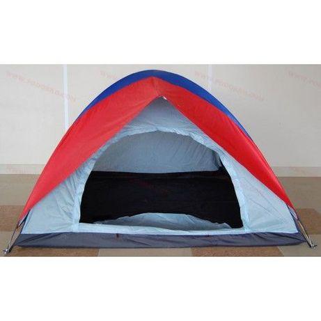 НОВА Евтина палатка за двама до трима човека - двуслойна