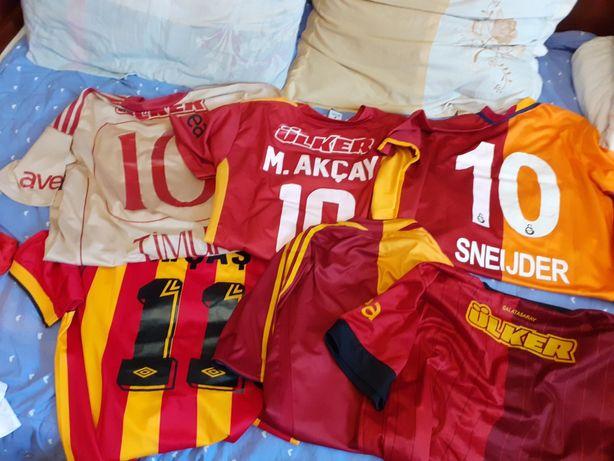 Lot 6 tricouri fotbal Galatasaray