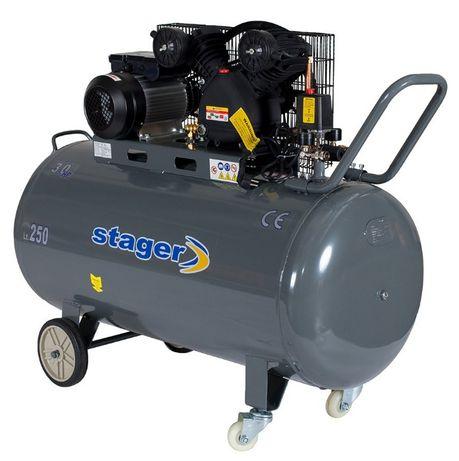 Compresor Stager 250 litri 220 V nou cu garantie