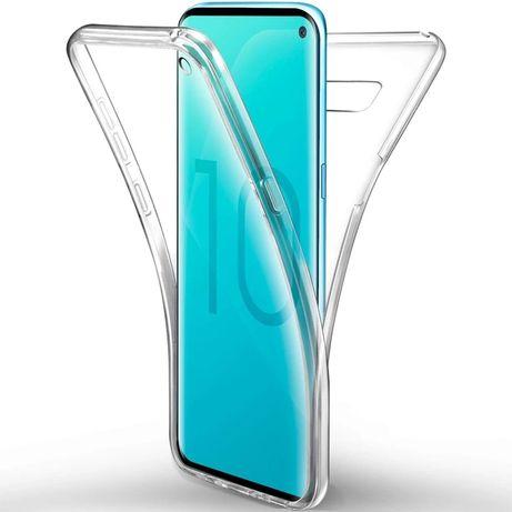 Силиконов кейс 360°градуса за Samsung Galaxy A50 A70 S20 S10 Plus S8